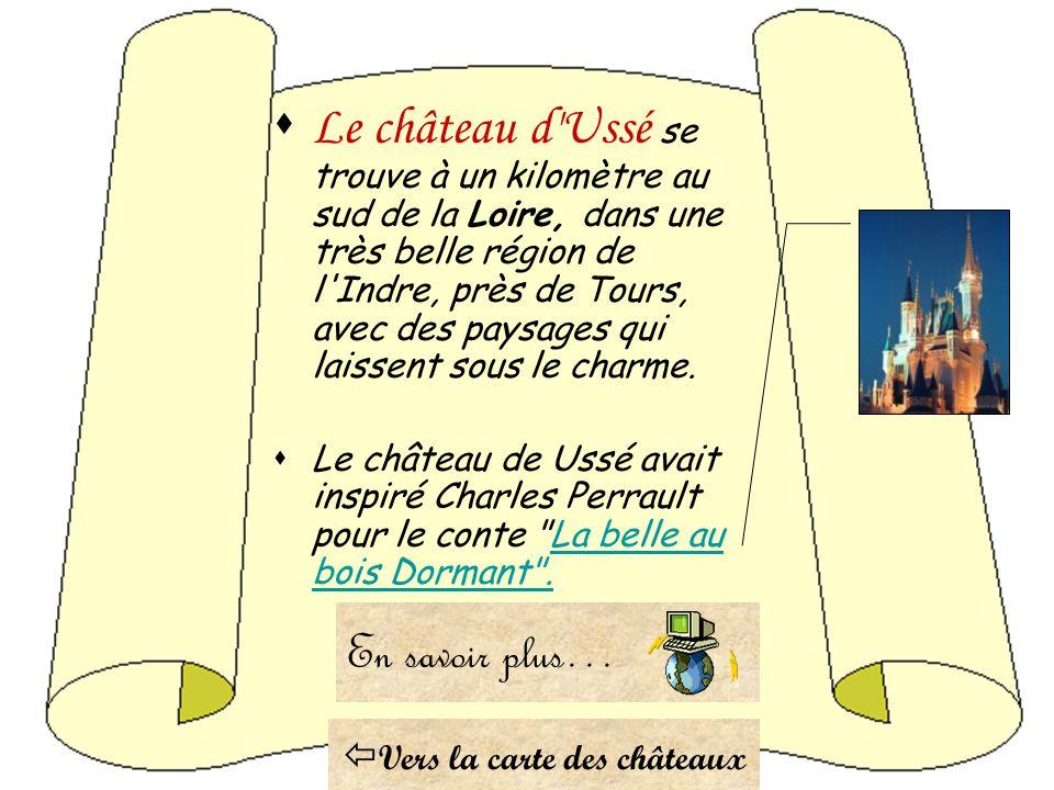 Vers la carte des châteaux