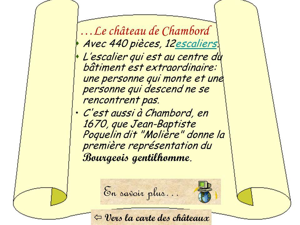 …Le château de Chambord