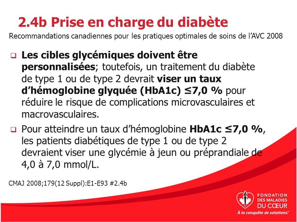 2.4b Prise en charge du diabète