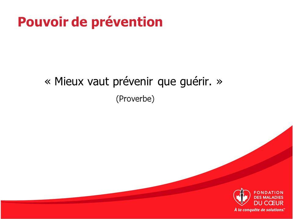 « Mieux vaut prévenir que guérir. »