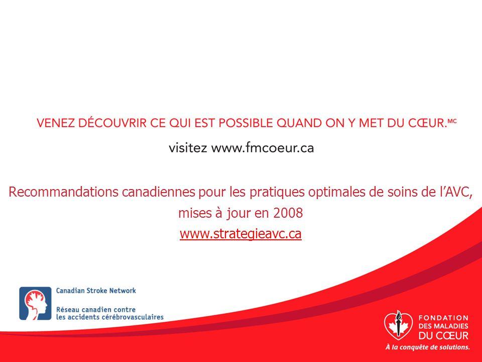 Conclusion Nous pouvons prévenir 80 % des AVC dévastateurs par une évaluation rapide et des soins urgents.