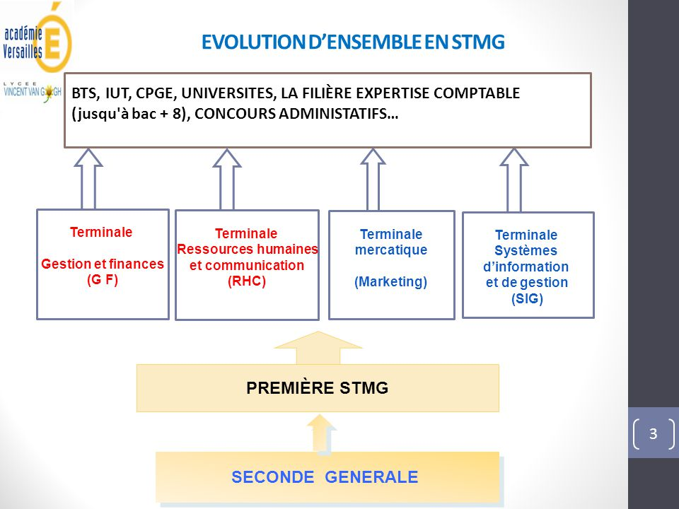 EVOLUTION D'ENSEMBLE EN STMG