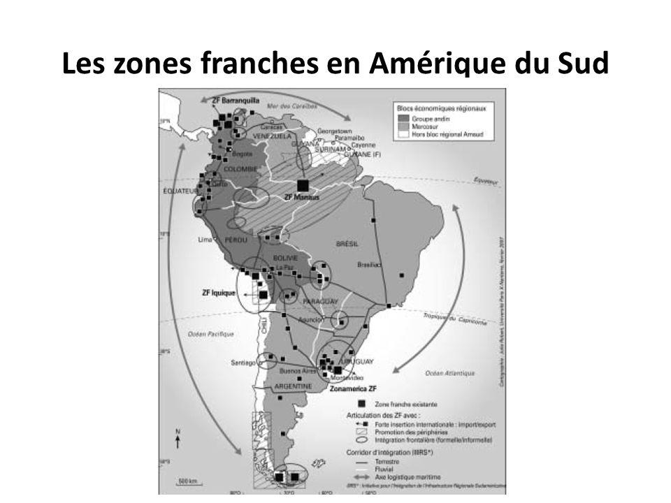 Les zones franches en Amérique du Sud