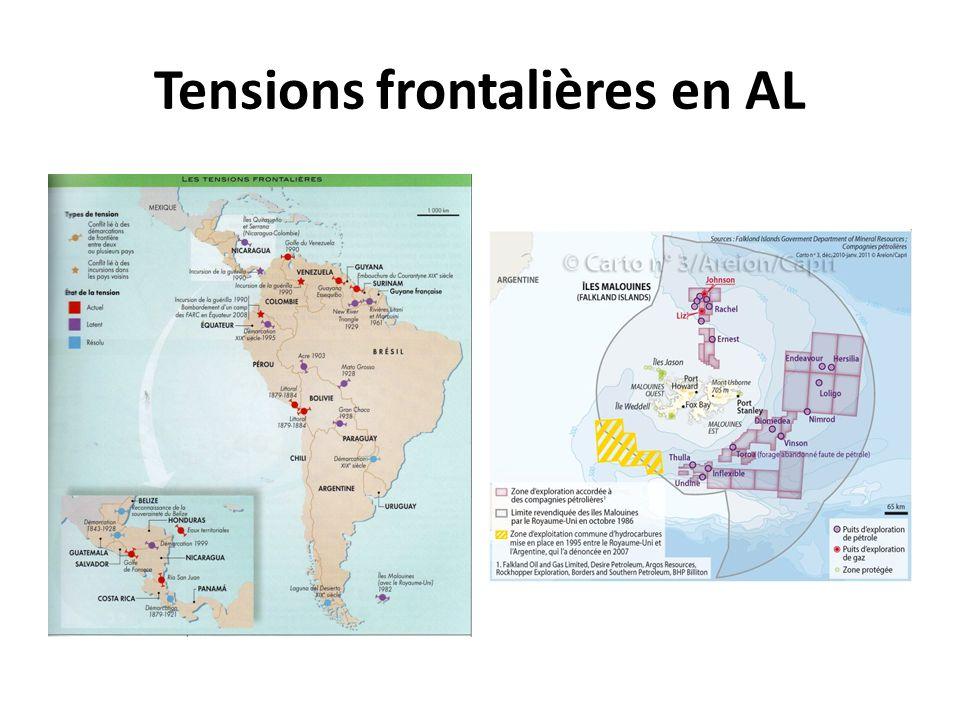Tensions frontalières en AL