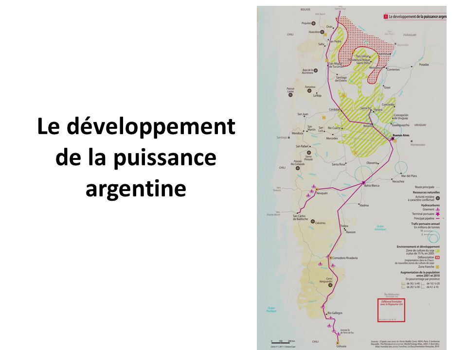 Le développement de la puissance argentine