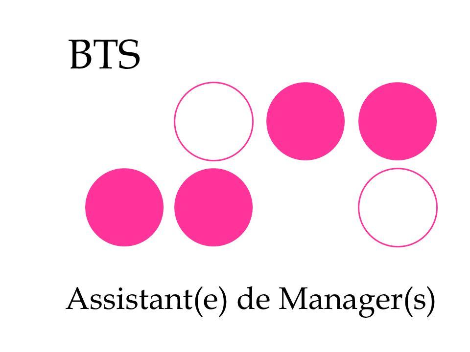 Assistant(e) de Manager(s)