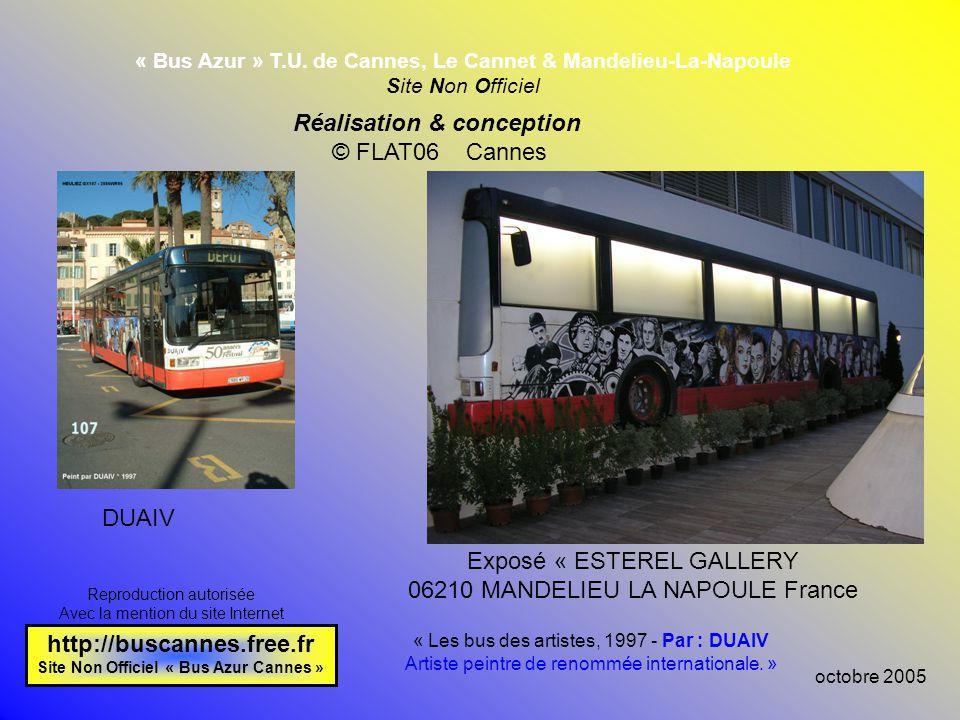 Réalisation & conception http://buscannes.free.fr