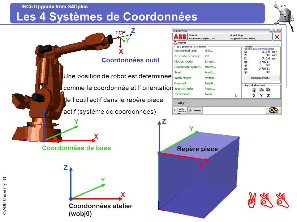 Les 4 Systèmes de Coordonnées