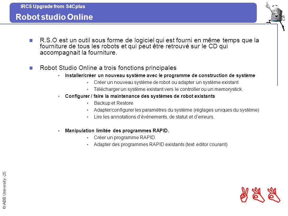 Robot studio Online