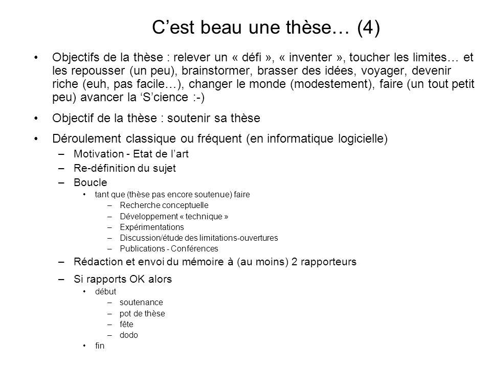 C'est beau une thèse… (4)