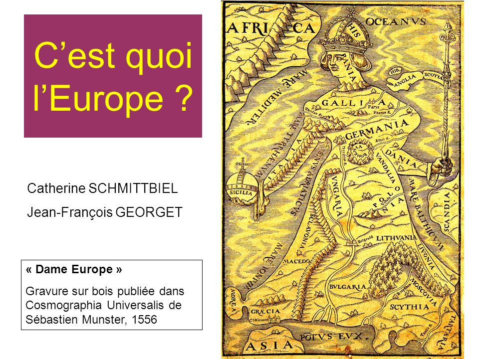 C'est quoi l'Europe Catherine SCHMITTBIEL Jean-François GEORGET