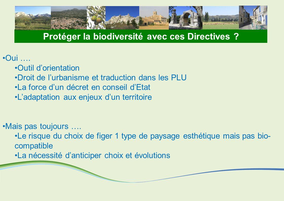 Protéger la biodiversité avec ces Directives