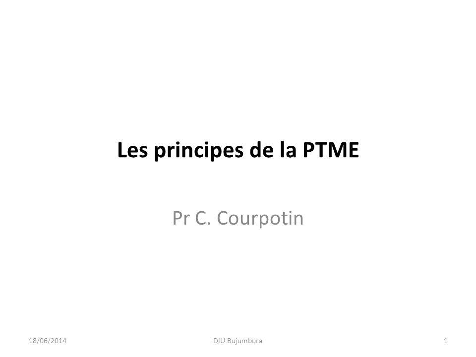 Les principes de la PTME
