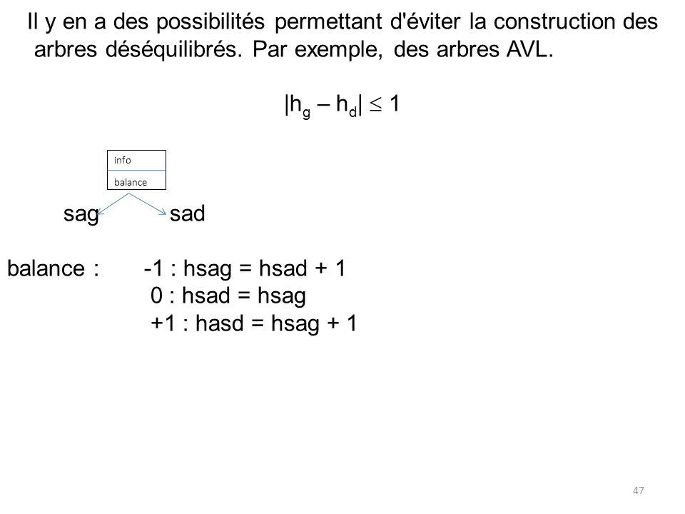 balance : -1 : hsag = hsad + 1 0 : hsad = hsag +1 : hasd = hsag + 1