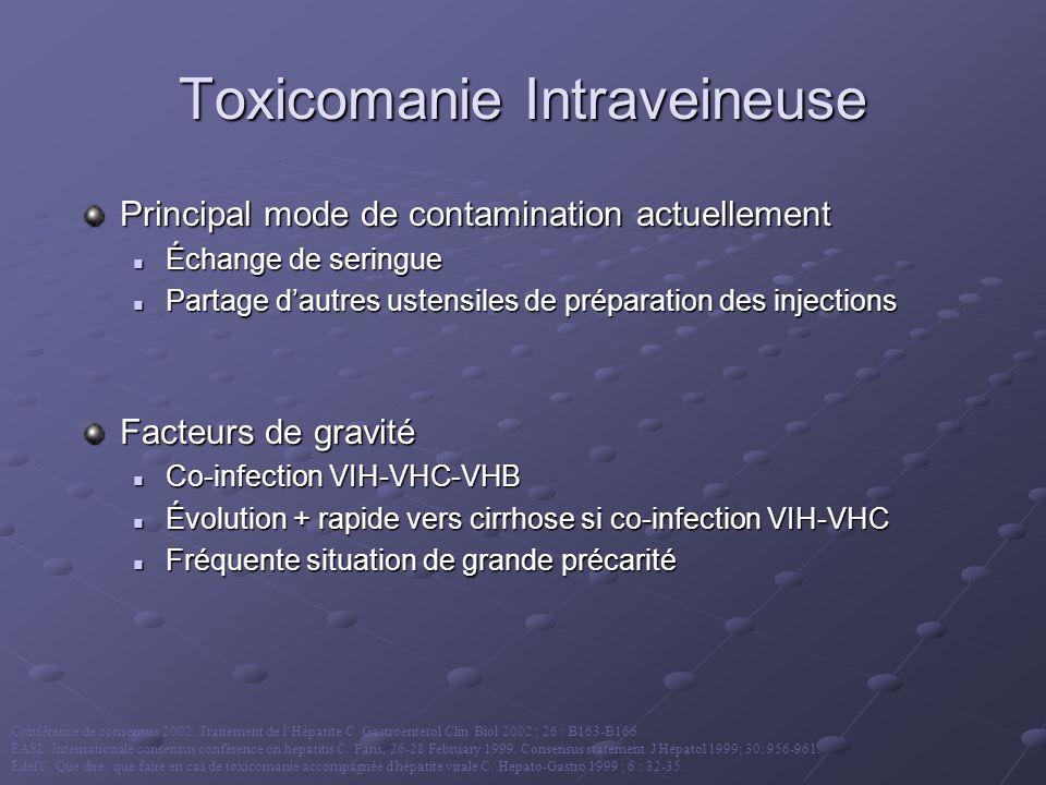 Toxicomanie Intraveineuse