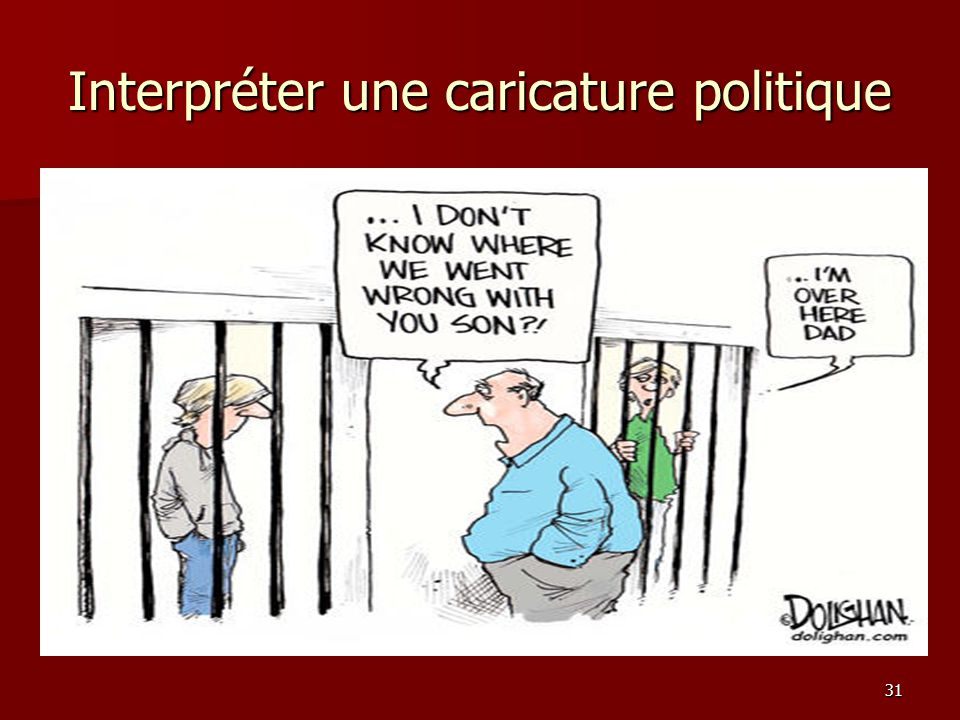 Interpréter une caricature politique