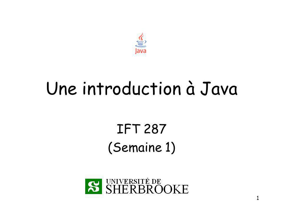 Une introduction à Java