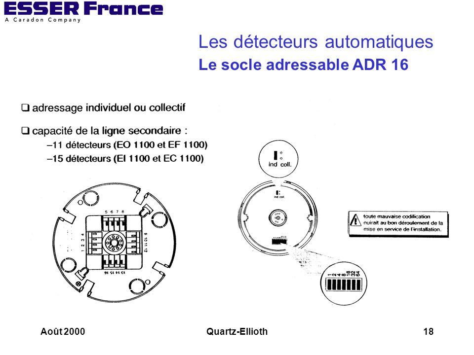 Les détecteurs automatiques