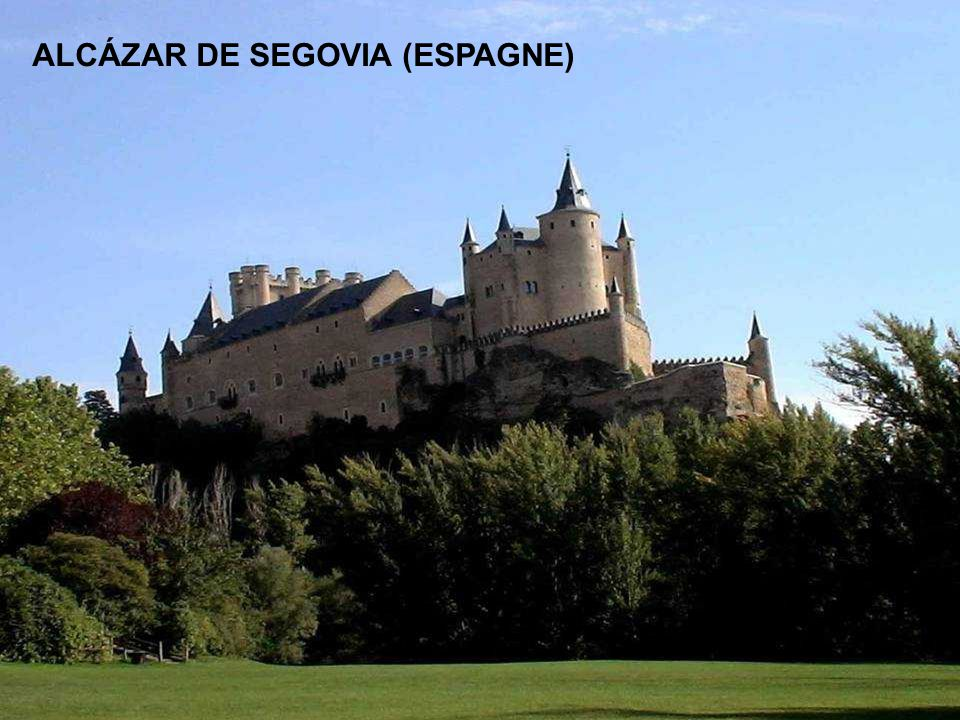 ALCÁZAR DE SEGOVIA (ESPAGNE)