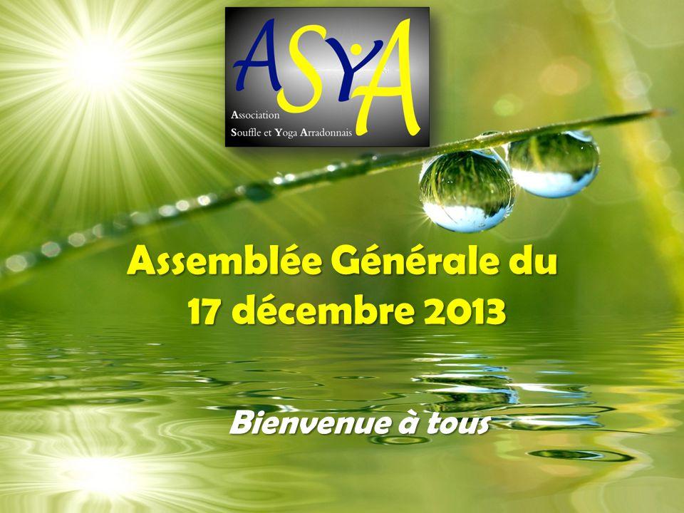 Assemblée Générale du 17 décembre 2013