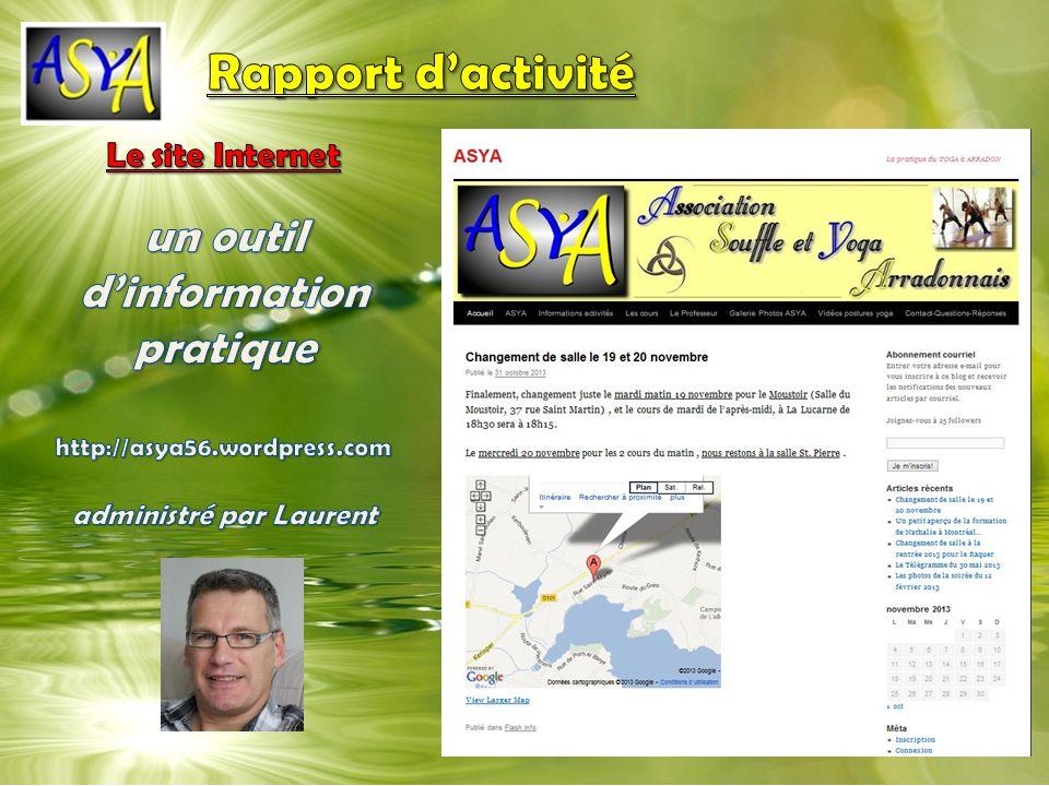 un outil d'information pratique administré par Laurent