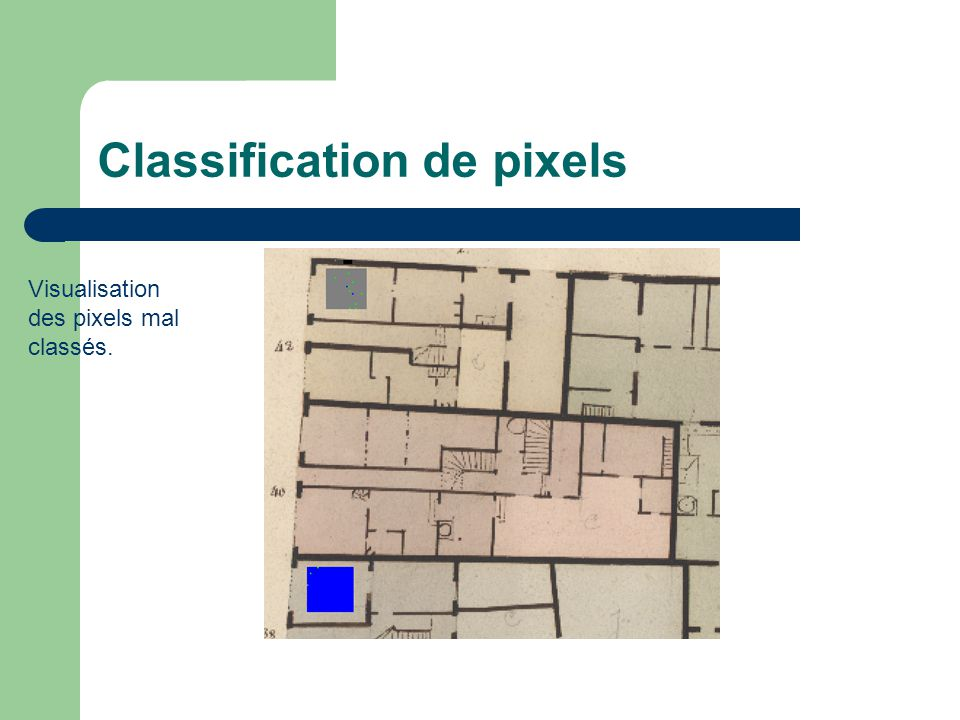 Classification de pixels