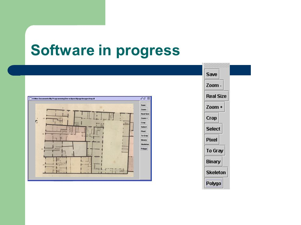 Software in progress