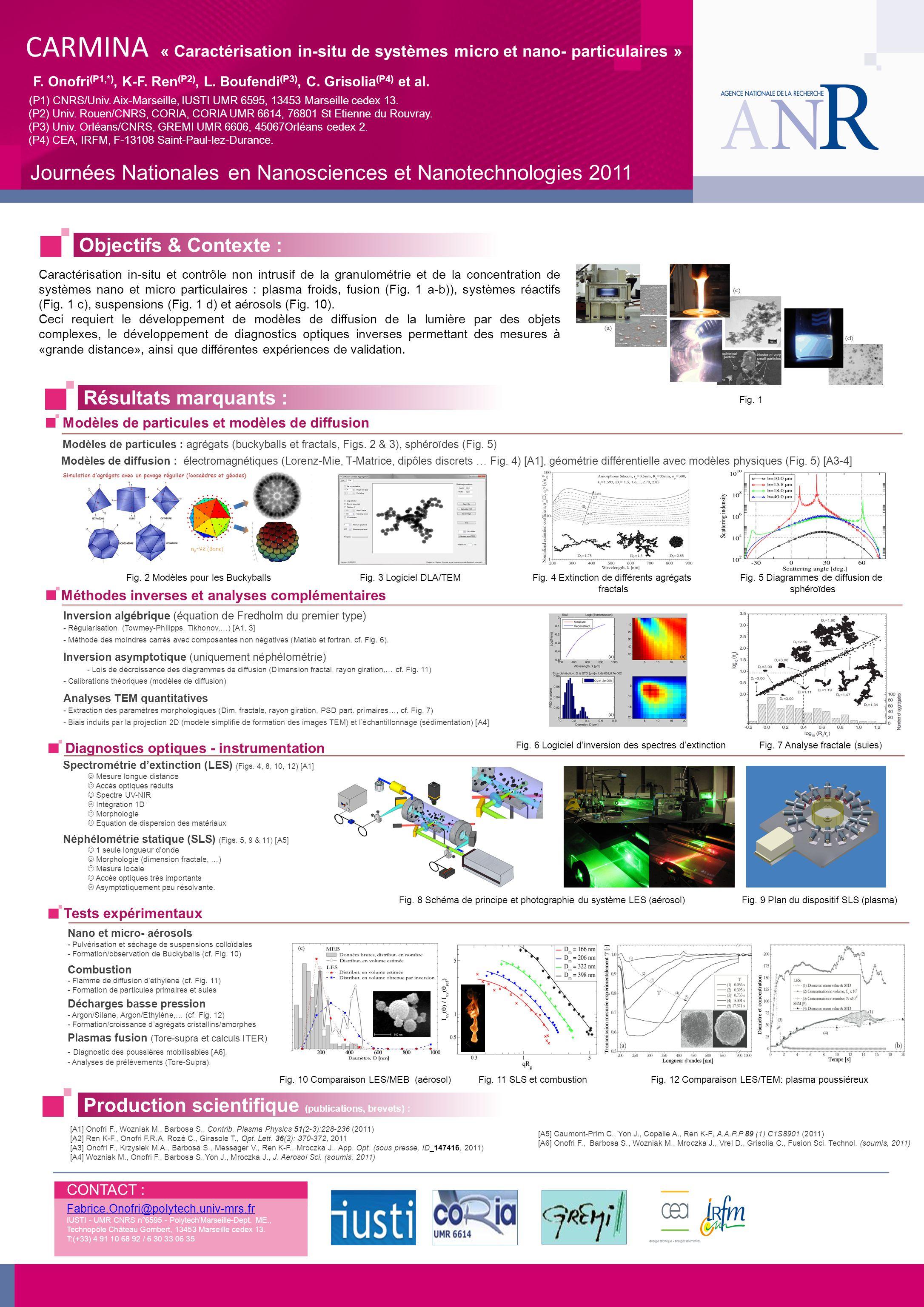 Journées Nationales en Nanosciences et Nanotechnologies 2011