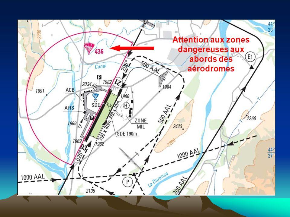 Attention aux zones dangereuses aux abords des aérodromes