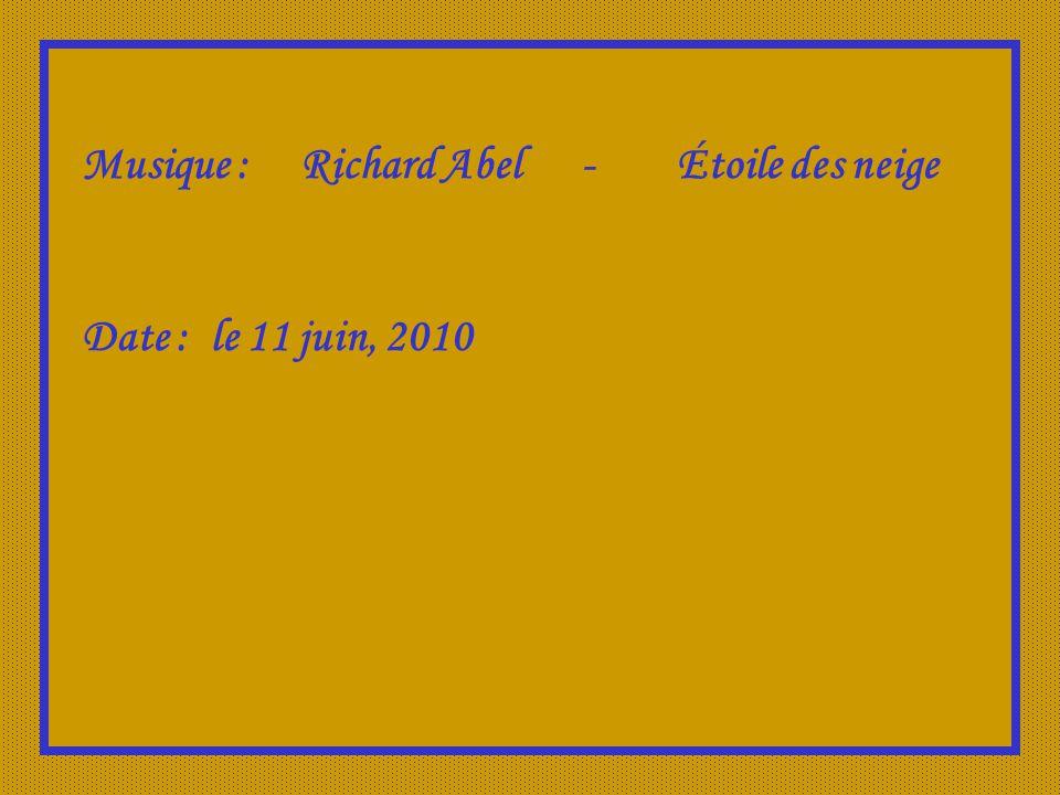 Musique : Richard Abel - Étoile des neige