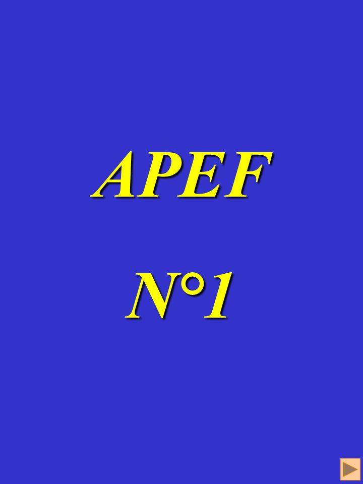APEF 1 APEF N°1