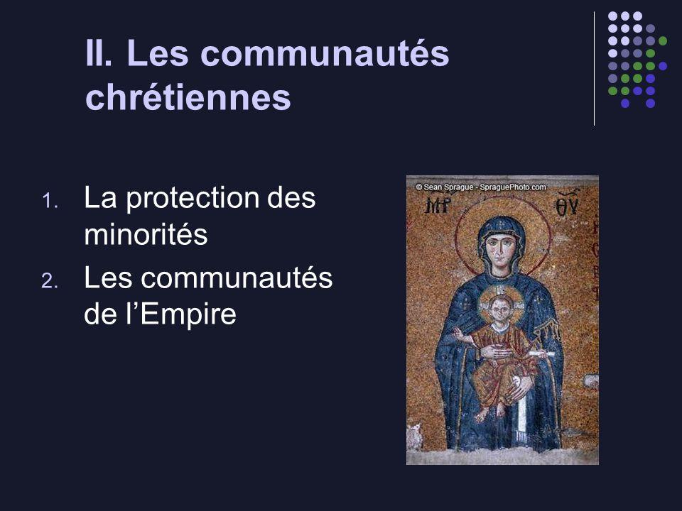 II. Les communautés chrétiennes