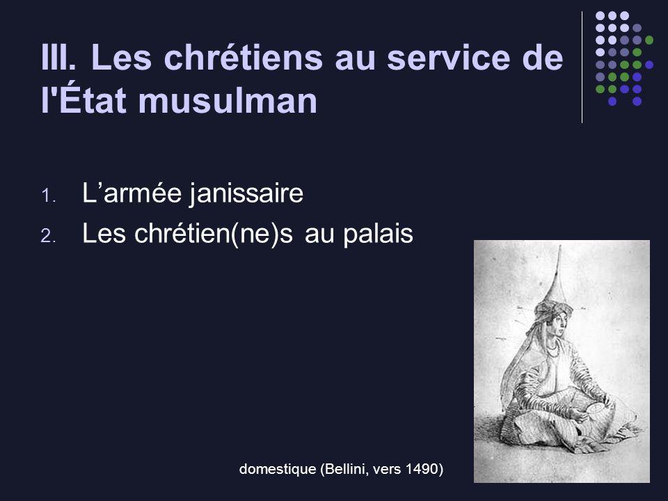 III. Les chrétiens au service de l État musulman