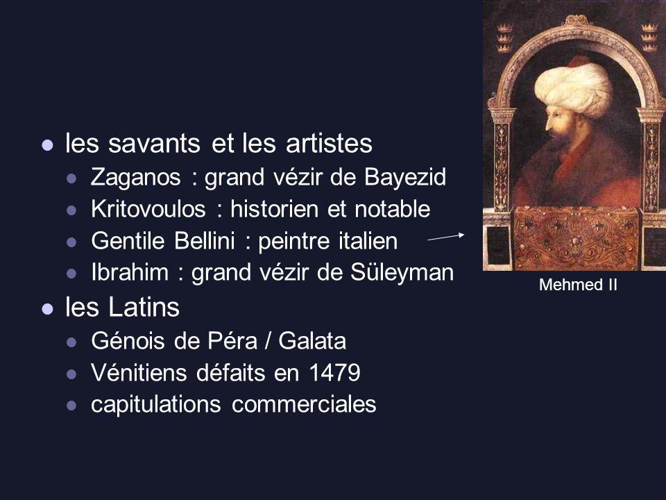 les savants et les artistes