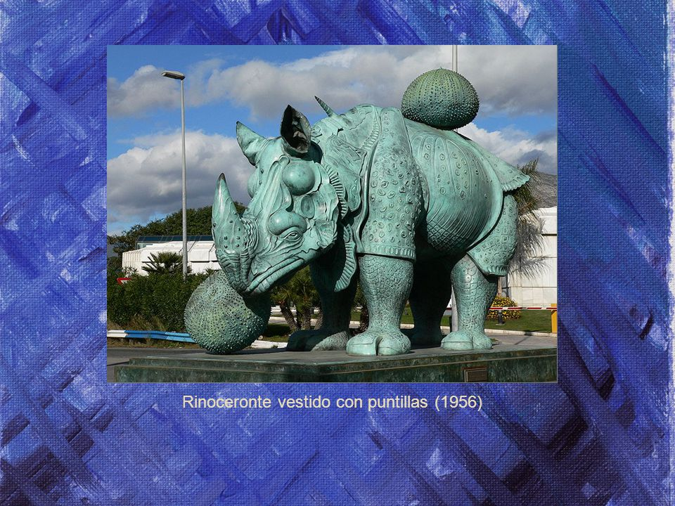Rinoceronte vestido con puntillas (1956)