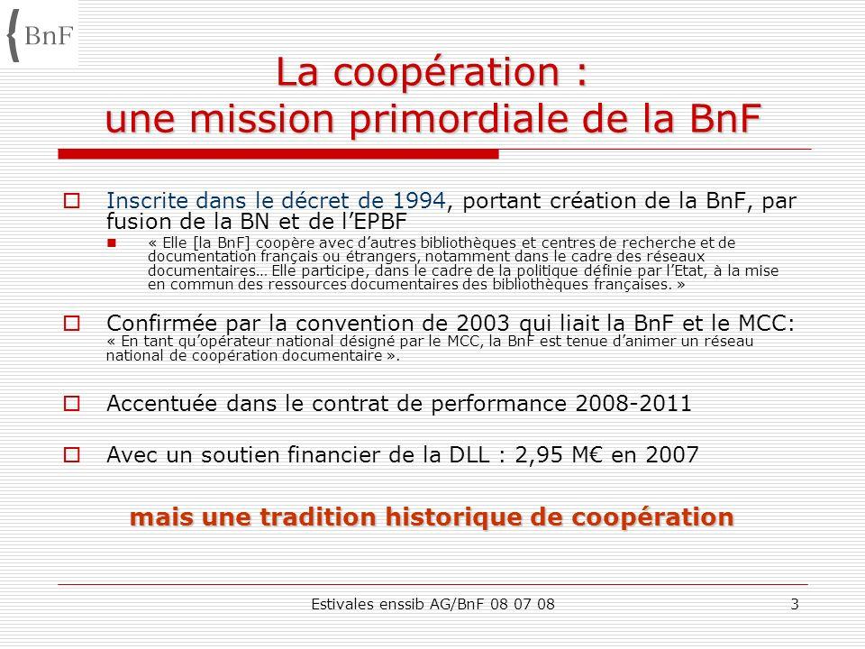 La coopération : une mission primordiale de la BnF