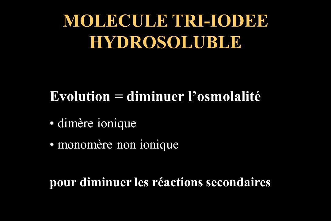MOLECULE TRI-IODEE HYDROSOLUBLE