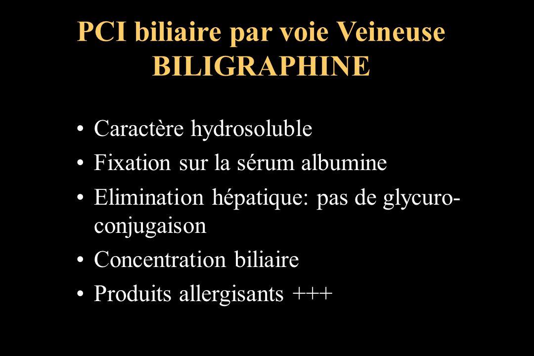 PCI biliaire par voie Veineuse BILIGRAPHINE