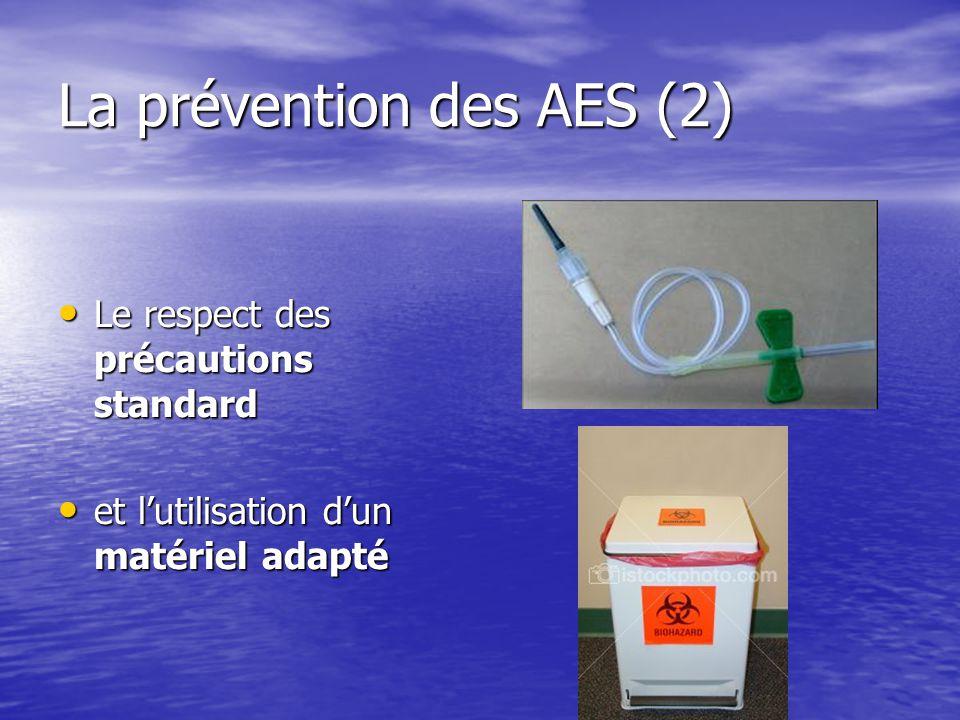 La prévention des AES (2)