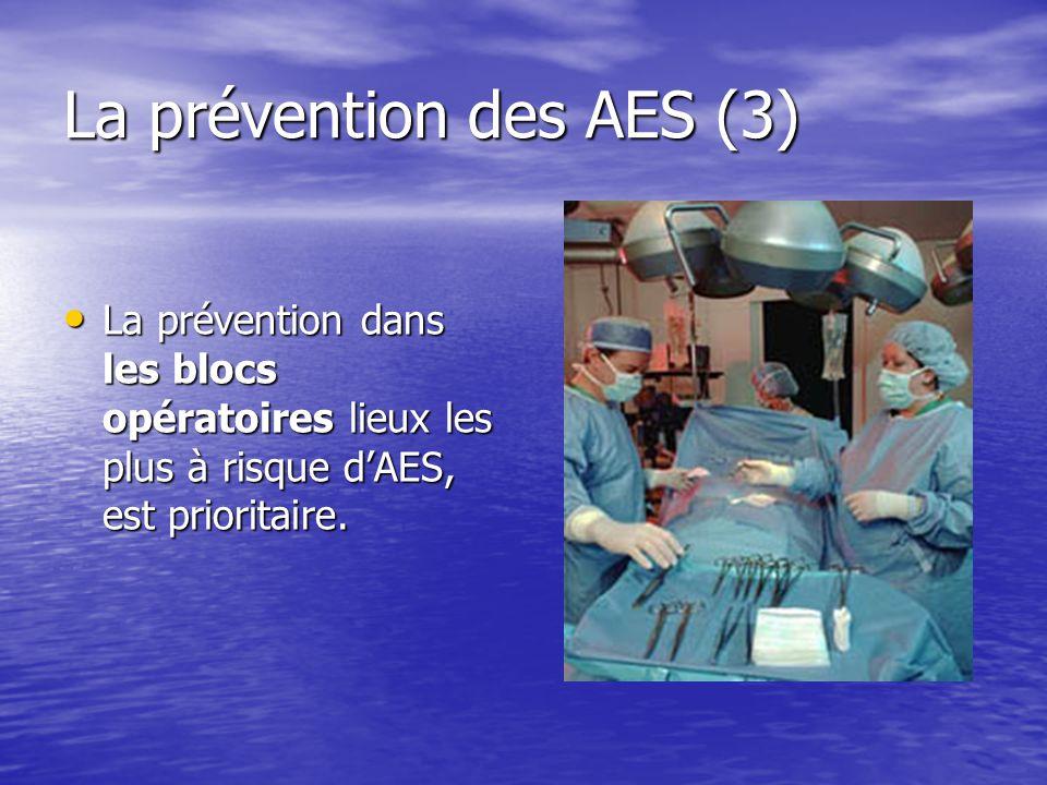 La prévention des AES (3)