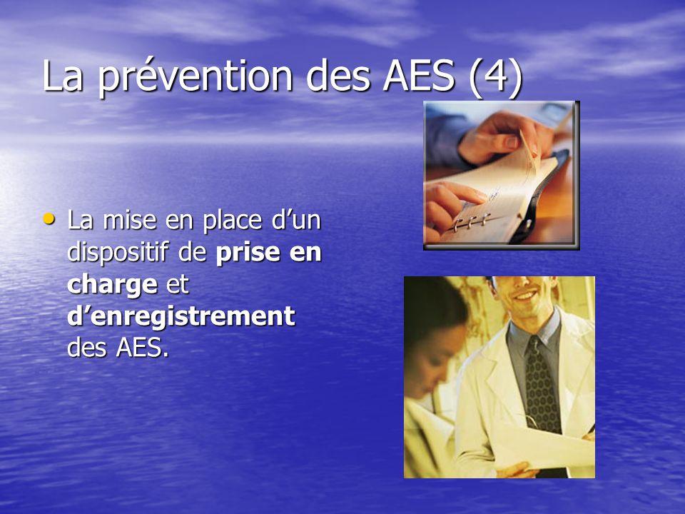 La prévention des AES (4)