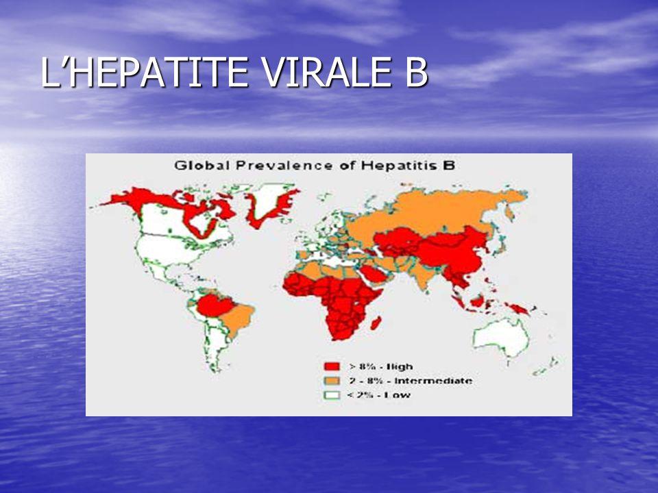 L'HEPATITE VIRALE B