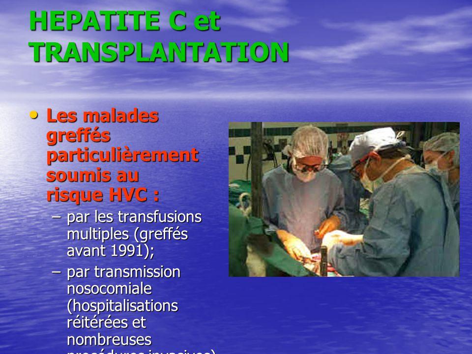 HEPATITE C et TRANSPLANTATION