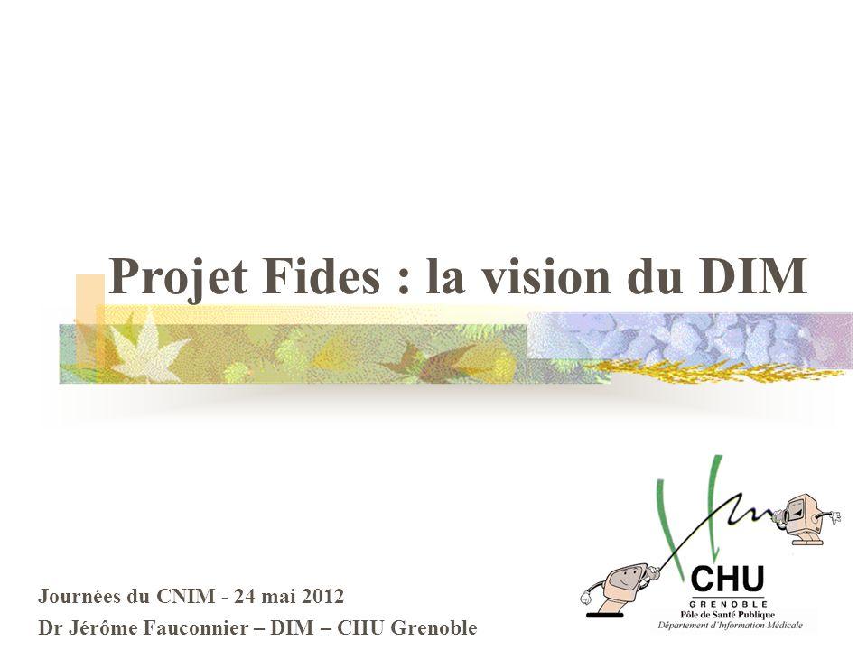 Projet Fides : la vision du DIM