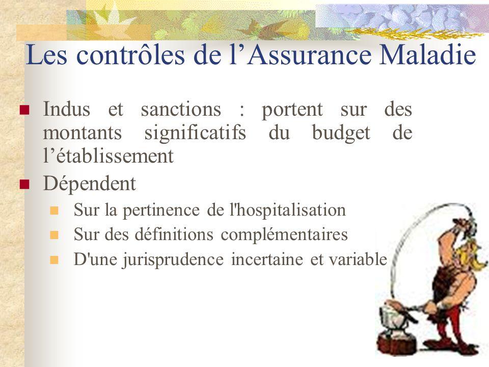 Les contrôles de l'Assurance Maladie