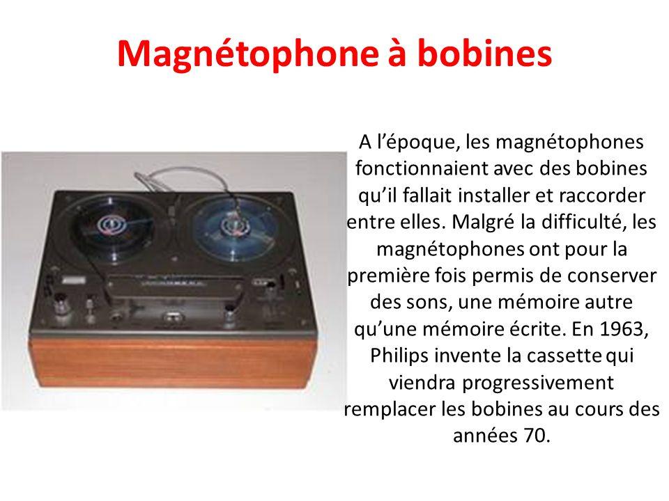 Magnétophone à bobines