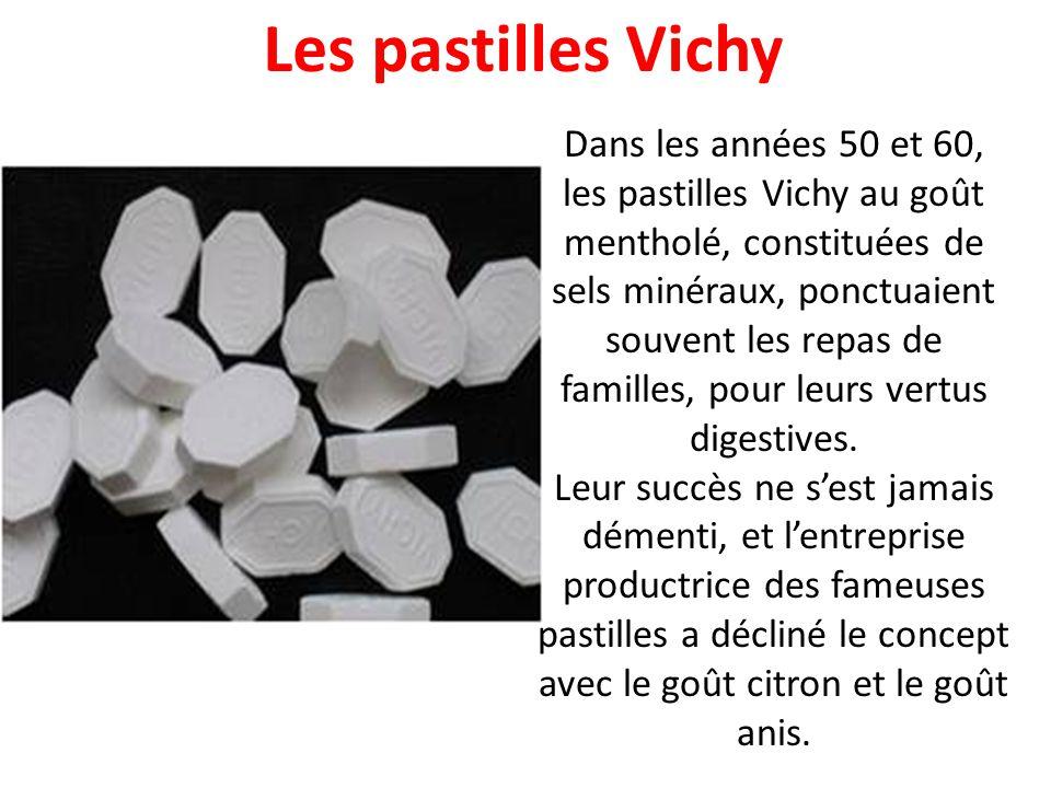 Les pastilles Vichy