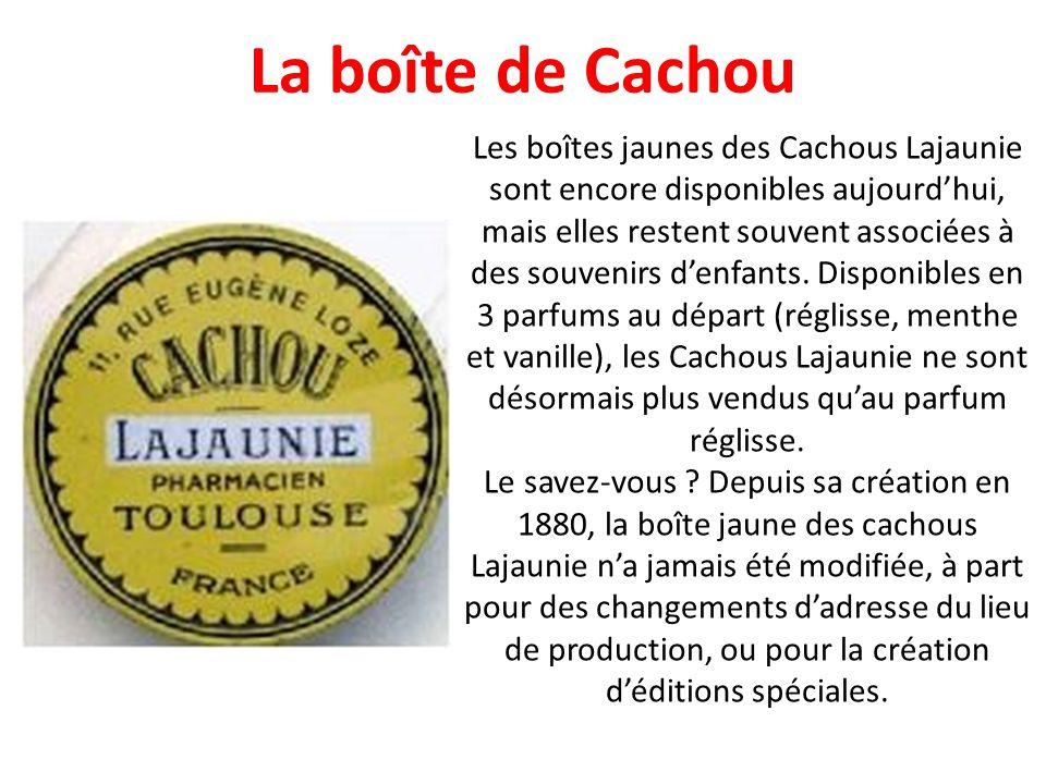 La boîte de Cachou