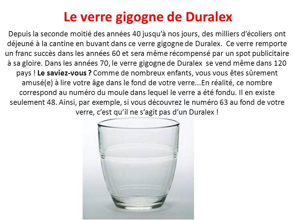 Le verre gigogne de Duralex