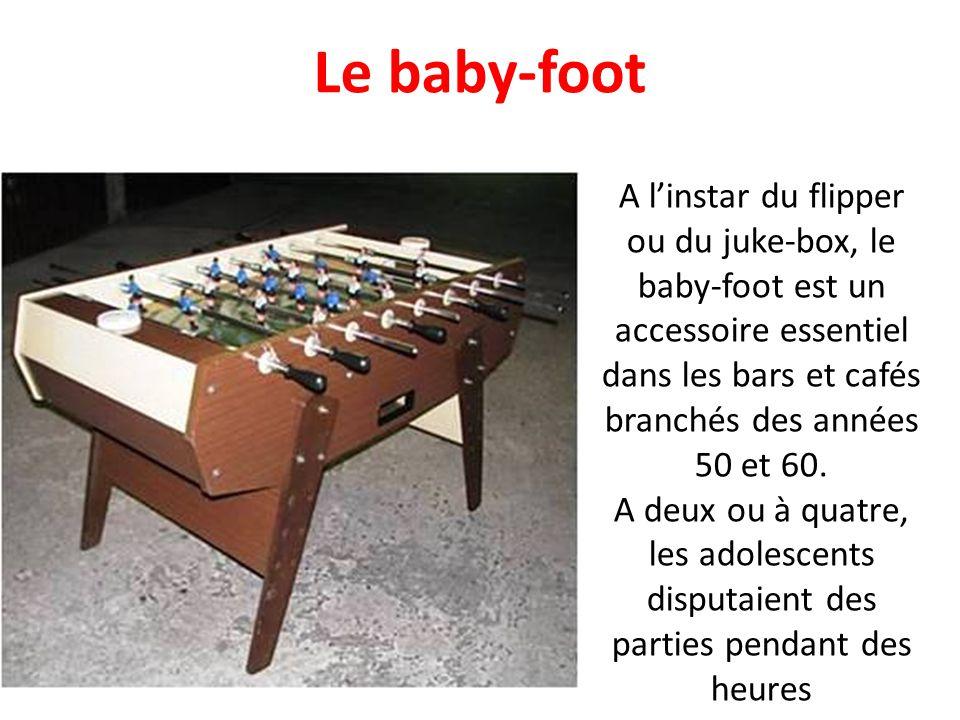 Le baby-foot